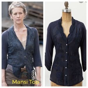 Anthropologie Tiny Mansi Top EUC